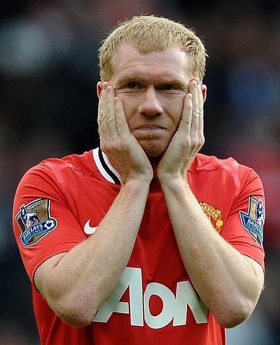 """It shows how far Manchester United have fallen when our whole season rests on Liverpool losing."" - Paul Scholes. #football #soccer #fifa #championsleague #premierleague #mufc #ggmu #manchesterunited #liverpool #lfc #ynwa #mcfc #lufc"