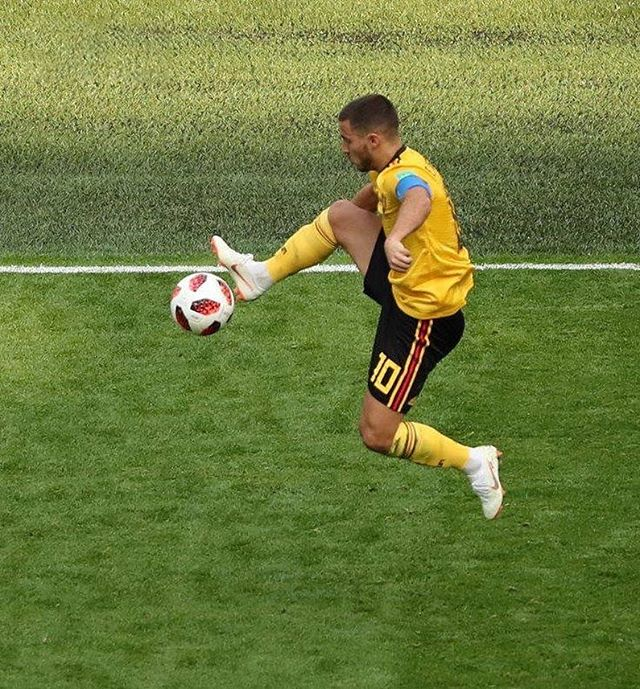 Next level player... #football #soccer #fifa #uefa #worldcup #wc2018 #worldcup2018 #russia #russia2018 #belgium #belgique #hazard