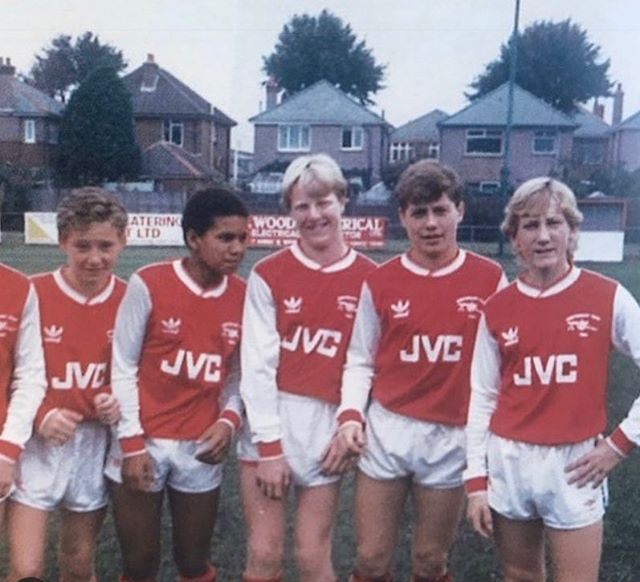 A 12-year old Ray Parlour already looked like a 35-year old man with two kids and a mortgage.  #football #soccer #fifa #uefa #futbol #futebol #championsleague #messi #ronaldo #cr7 #manchesterunited #liverpool #madrid #realmadrid #barca #barcelona #juventus #milano #psg #arsenal
